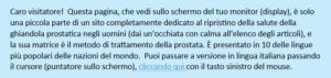 Cura Dell'adenoma della Prostata con Metodi non Scientifici: Erbe Medicinali, Integratori